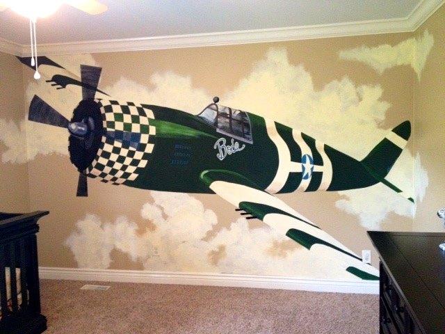 Bode Plane Mural 3